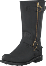 PrimeBoots - Engineer Mid 42 Old Crazy Black