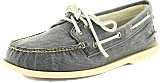 Sperry Topsider - 2-Eye Canvas/Navy salt washed