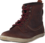 Wrangler - Woodland Boot Dk Brown Leather