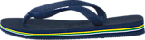Havaianas - Kids Brasil Logo Navy Blue