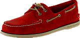 Sperry Topsider - A/O 2-Eye Red Salt Washed