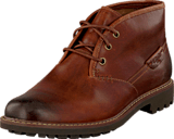 Clarks - Montacute Duke Dark Tan Lea
