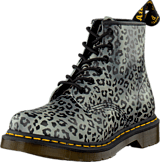 Dr Martens - 101 Charcoal Psych Leo