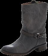 Mexx - Denise 2 Cow Lthr Boots Dark Brown
