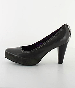 Mexx - Liv 2 Cow LTHR Pump Dark Grey