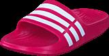 adidas Sport Performance - KLAPKI Duramo Slide K Pnkbuz/runwht/pnkbuz