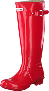 Hunter - Original Tall Gloss Pillar Box Red