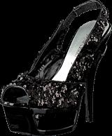 Sugarfree Shoes - Tess Black