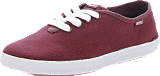 WeSC - Ada Low Top Biking Burgundy