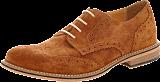 Knowledge Cotton Apparel - British Brogue Shoe Buckthorn Brown