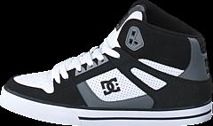 DC Shoes - Spartan High WC Black/ Grey/ White