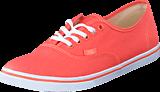 Vans - U Authentic Lo Pro Fusion Coral 48