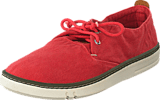 Timberland - EK Handcrafted Fabric Oxford Washed Red Canvas