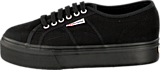 Superga - Lady 2790-Cotw Linea and Down 996 full black