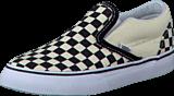 Vans - T Classic Slip-On Black And White Checker/White