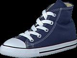 Converse - Small Star Hi Canvas Navy