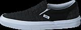 Vans - Classic Slip-On (Suede Checkers) black