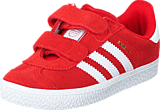 adidas Originals - Gazelle 2 Cf I Lush Red S16-St/Ftwr White