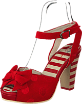 Lola Ramona - Angie P Red Suede