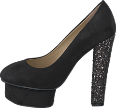 Sugarfree Shoes - Marica Black / Glitter