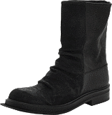 V Ave Shoe Repair - Square Boot Black