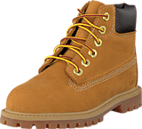 Timberland - 12809 6 IN Premium Wheat Nubuck