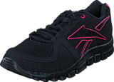 Reebok - Yourflex Run 4.0 Black/Candy Pink