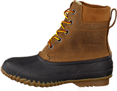 Sorel - Cheyanne Lace Full Grain Chipmunk, Black