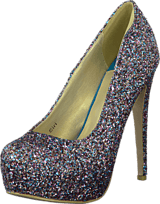 Sugarfree Shoes - Siri Glitter Multiglitter