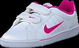 Nike - Court Tradition 2 Plus (Psv) White/Vivid Pink-Vivid Pink
