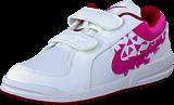 Nike - Pico 4 (Psv) White/Vivid Pink-Gym Red