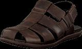 Clarks - Valor Sky Dark Brown Leather