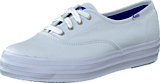 Keds - Triple Core White Canvas
