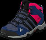 adidas Sport Performance - Ax2 Mid Cp K Prism Blue/Core Black/Eqt Pink