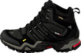 adidas Sport Performance - Terrex Fast X High Carbon/Black/Light Scarlet