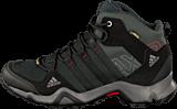 adidas Sport Performance - Ax2 Mid Gtx Dark Shale/Black/Light Scarlet