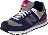 New Balance - WL574SBS Black/Purple