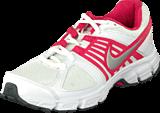 Nike - Wmns Nike Downshifter 5 Msl White/Mtllc Slvr-Drk Gry-Brry