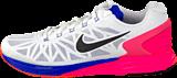 Nike - Wmns Nike Lunarglide 6 White/Black-Hypr Pnk-Hypr Cblt