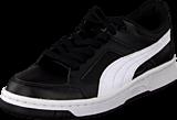 Puma - Puma Rebound V2 Lo Jr Black/White