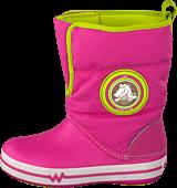 Crocs - CrocsLights Gust Boot PS Party Pink/Volt Green