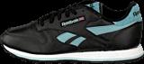 Reebok Classic - Cl Leather Pop Sc Black/Lunar Blue/Blue/White