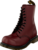 Dr Martens - 1919 10-eye boot Cherry Red