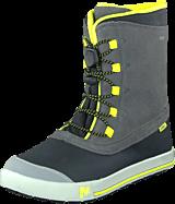 Merrell - Snow Bank Waterproof Kids Grey/Lime