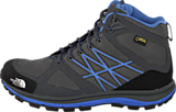 The North Face - W Litewave Mid Gtx Zin Gry/Mar Blu