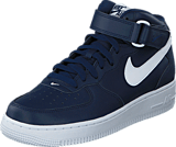 Nike - Air Force 1 Mid '07 Midnightnavy/White-White