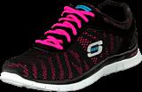 Skechers - First glance Black/pink