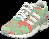 adidas Originals - Zx Flux W Clear Onix/White/Vista Pink