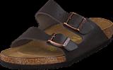 Birkenstock - Arizona Regular Leather Dark Brown