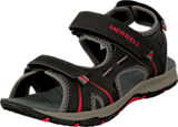 Merrell - Panther Sandal Black/Red